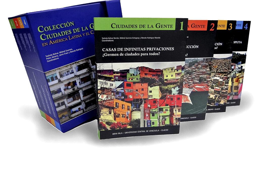 COLECCIÓN CIUDADES DE  LA GENTE EN AMERICA LATINA Y EL CARIBE